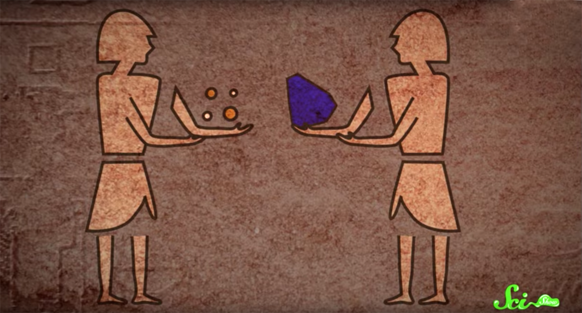 How Egyptian Blue was made